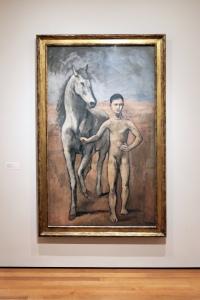 Picasso L'enfant au cheval