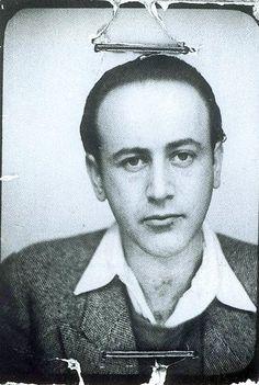 Photomaton de Paul Celan Vers 1938