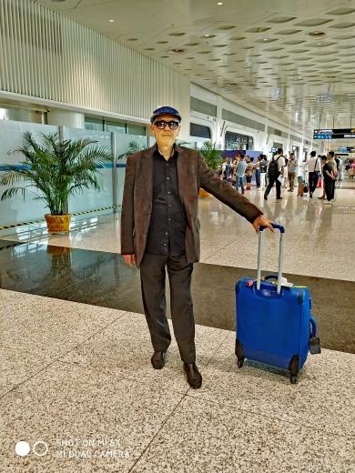 Arrivée à Wuhan Airport BLOG