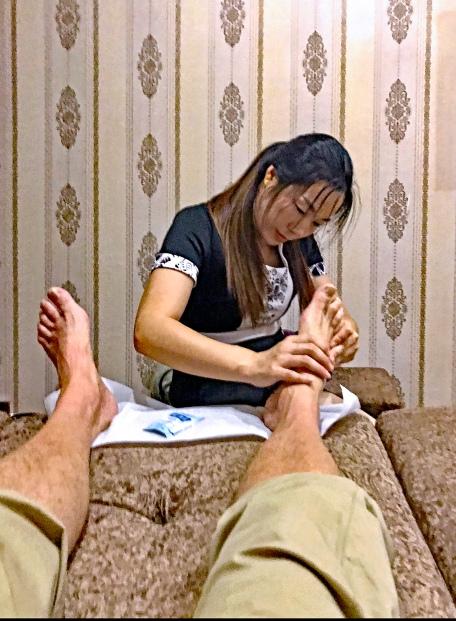 Massage des pieds blog